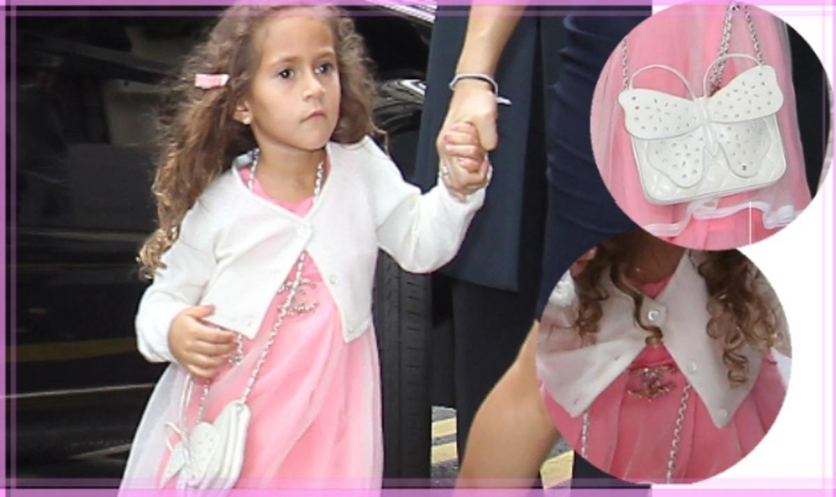 J. Lo: Έδωσε 1.800 ευρώ για τα Chanel αξεσουάρ της 4χρονης κόρης  της!   Newsit.gr