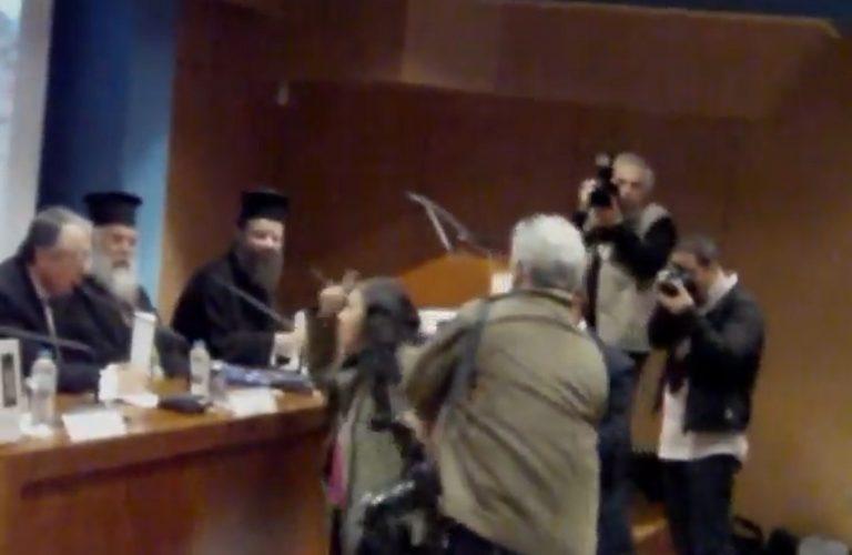 Η επίθεση της Ελένης Λουκά στον Γιώργο Μπαμπινιώτη! | Newsit.gr