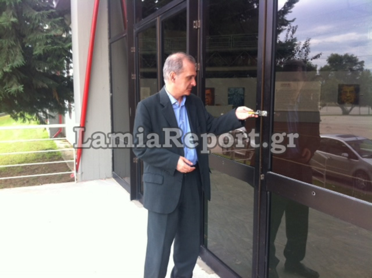 Λαμία:Μήνυση στον Δήμαρχο για »λουκέτο» στο «Άξιον Εστί»   Newsit.gr