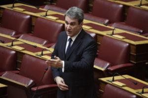 Λοβέρδος: Στην κυβέρνηση είναι πολιτικοί απατεώνες