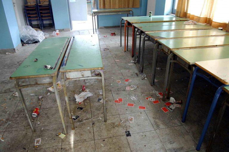 Κλοπές και καταστροφές σε υπό κατάληψη Λύκεια στην Καλαμάτα   Newsit.gr