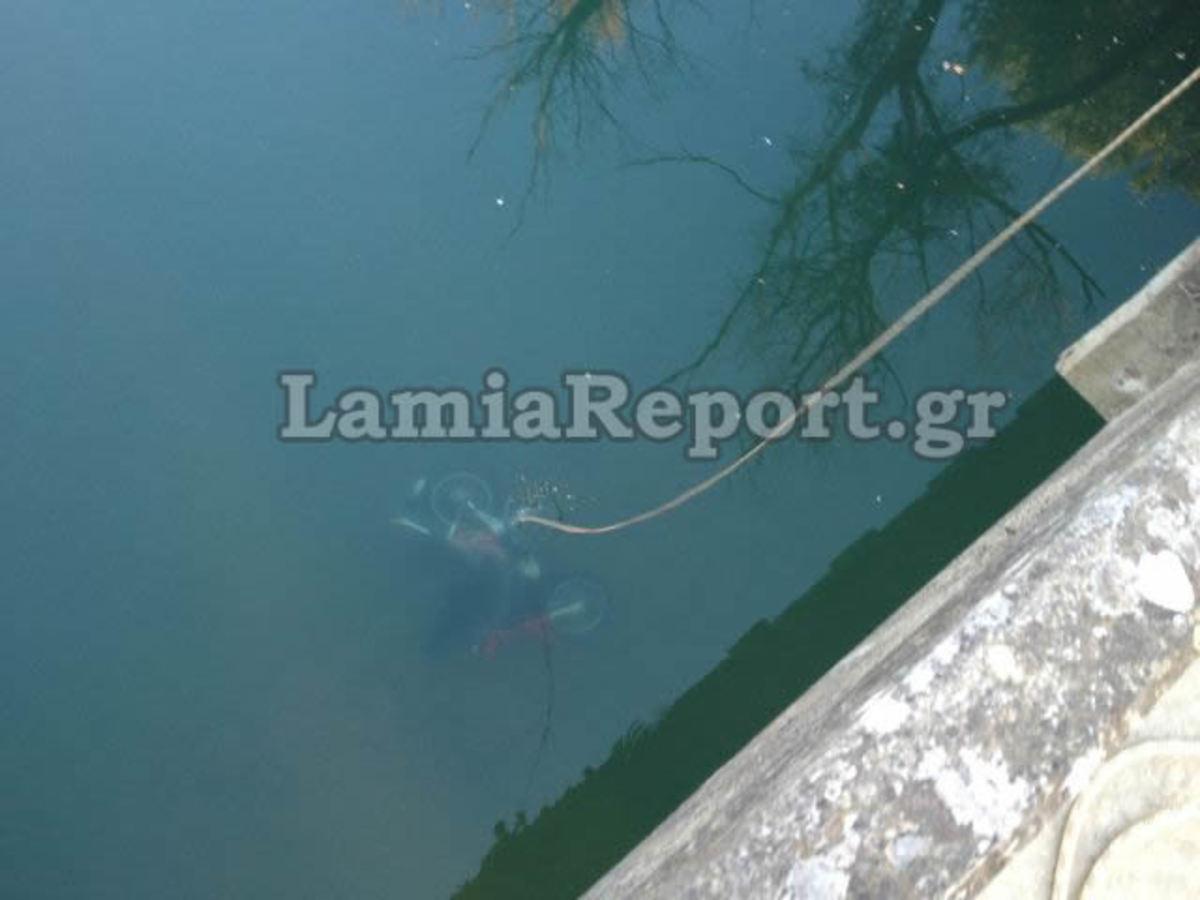 Φθιώτιδα:Πέταξαν το μηχανάκι που έκλεψαν στο ποτάμι-Φωτό και βίντεο! | Newsit.gr