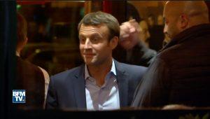 Γαλλία – Εκλογές: Έτσι γιόρτασε ο Μακρόν τη νίκη [vid, pics]