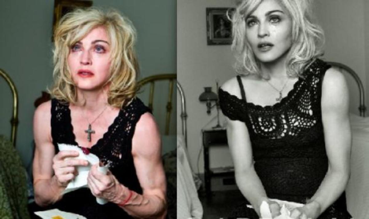 Η Madonna και η ιστορία των αρετουσάριστων φωτογραφιών της!   Newsit.gr