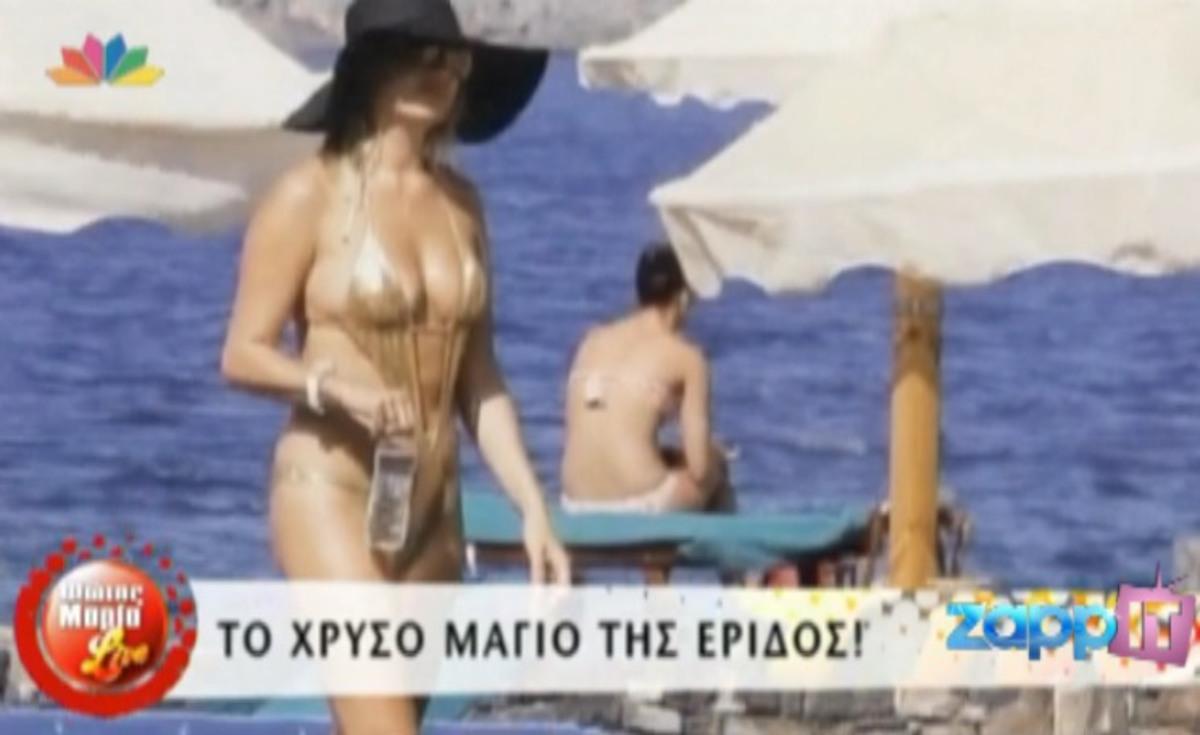 Ποια ξένη διασημότητα φόρεσε το χρυσό μαγιό της Φαίης Σκορδά; | Newsit.gr