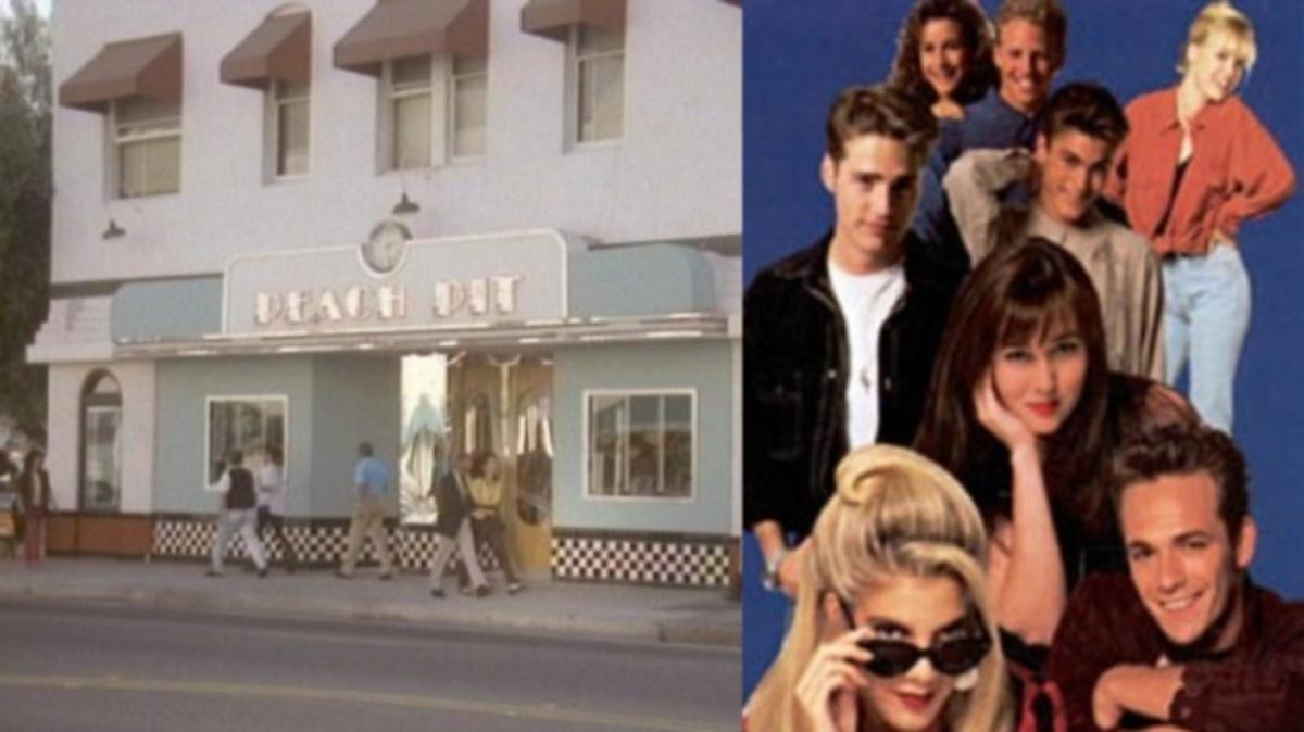 Πώς είναι σήμερα το διάσημο Peach Pit από τη σειρά Beverly Hills 90210; | Newsit.gr
