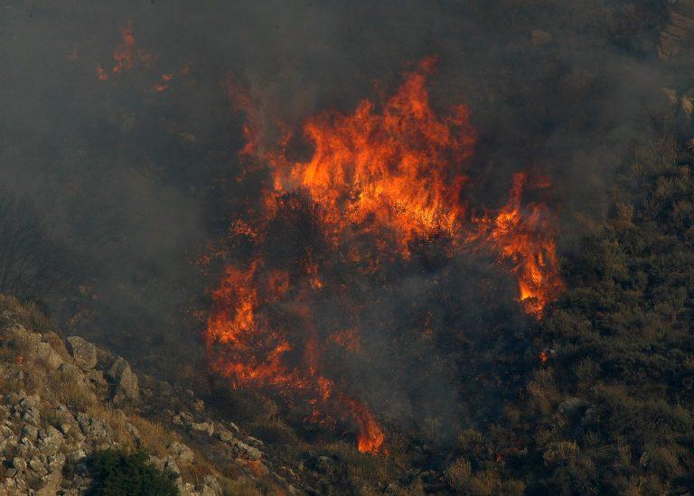 Πυρκαγιά σε εξέλιξη στο Αχλαδοχώρι – Υπό έλεγχο στο Μαίναλο | Newsit.gr