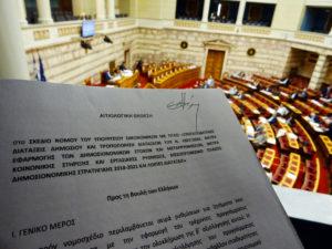 Μαξίμου για την τροπολογία της ΝΔ: Γκάφα ολκής και τζάμπα μαγκιά