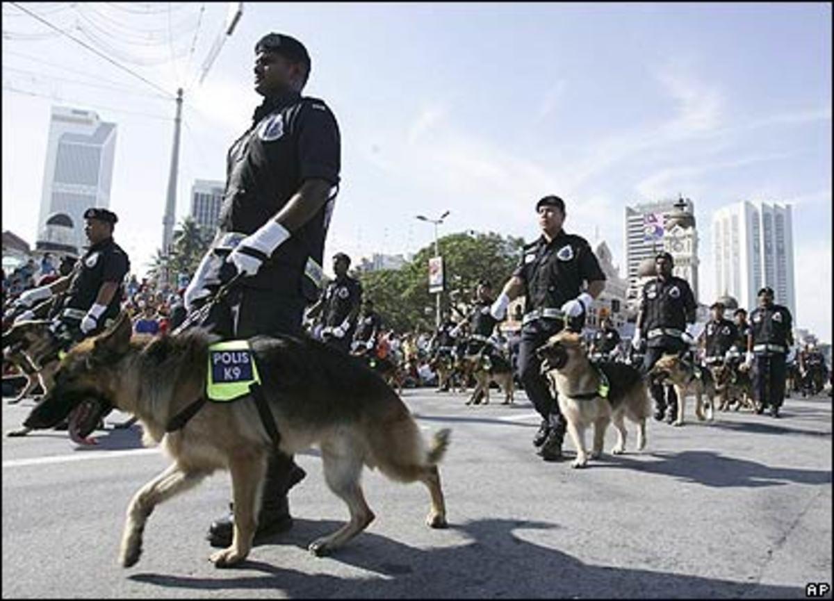 Μαλαισία: Θα συλλαμβάνει τους κακοποιούς με…σκυλιά! | Newsit.gr