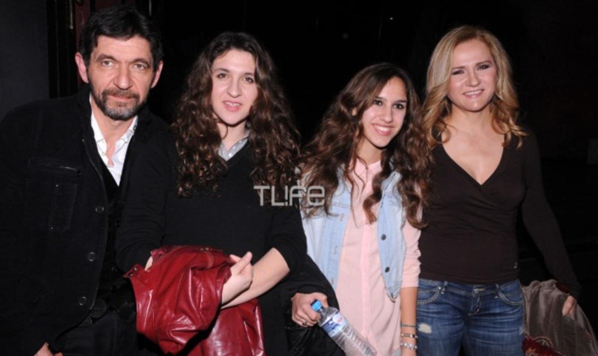 Γ. Σκιαδαρέσης – Μ. Μάλφα: Στο θέατρο με τις κόρες τους! | Newsit.gr
