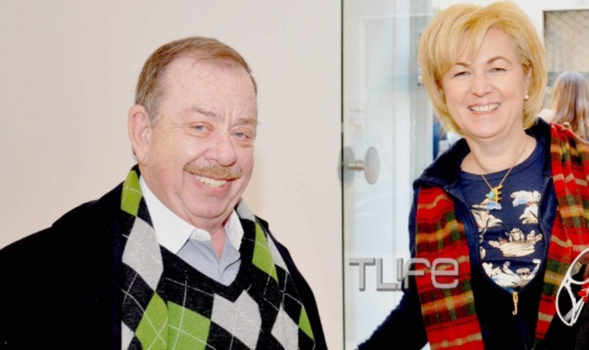 Ηλ. Μαμαλάκης: Η πρώτη δημόσια εμφάνιση με την σύζυγό του, Ντ. Πετρατζά!   Newsit.gr