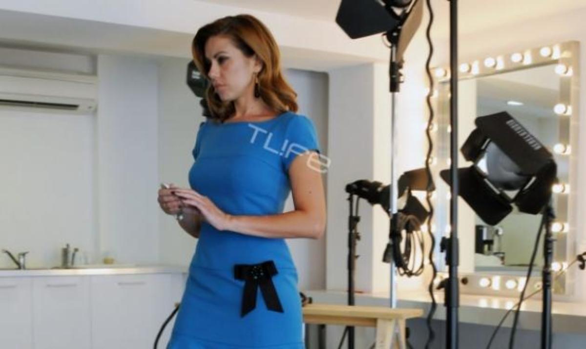 Ευγενία Μανωλίδου: Ξανά σε ρόλο μοντέλου για εταιρεία ρούχων! Βackstage φωτογραφίες   Newsit.gr