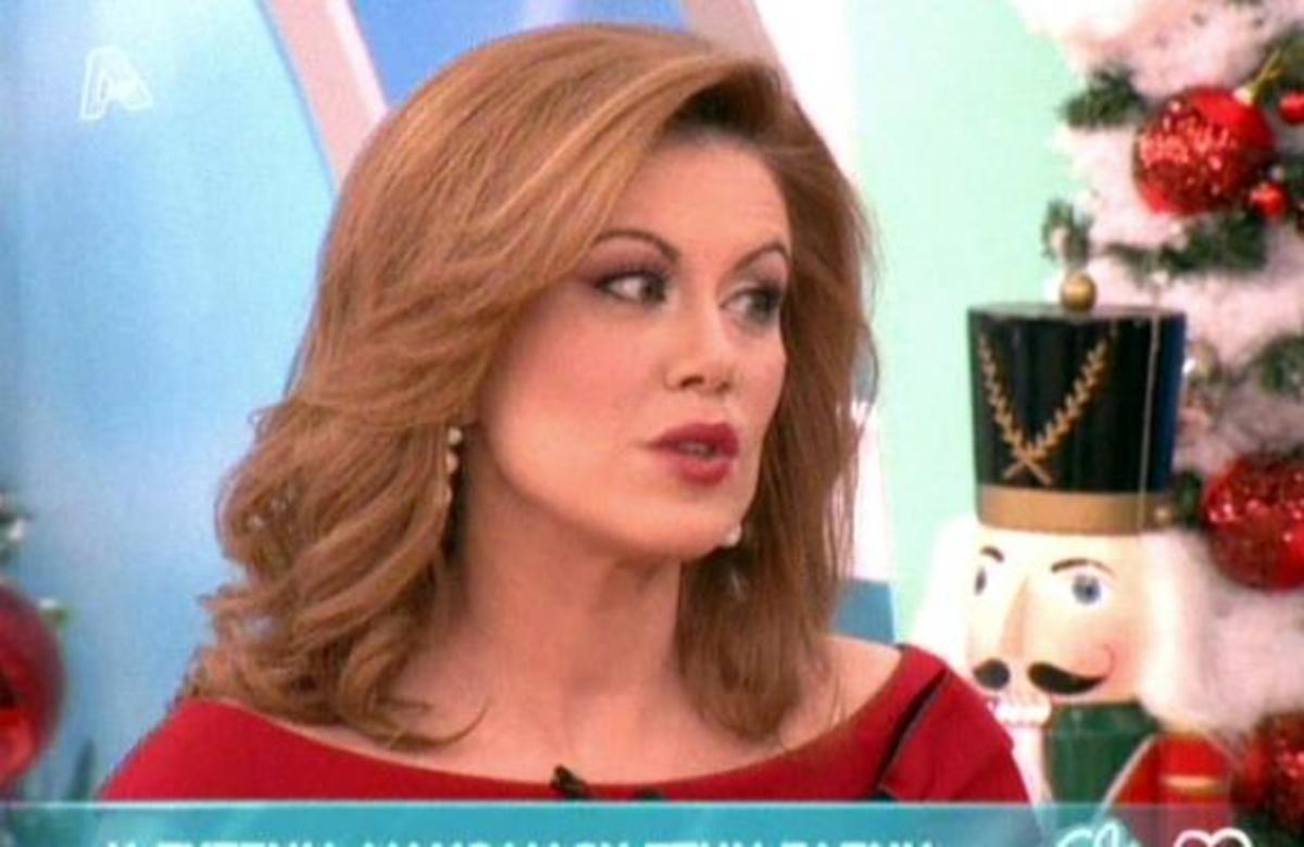 Ε. Μανωλίδου: Κάνω αποτοξίνωση από την τηλεόραση! | Newsit.gr