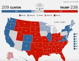 Αποτελέσματα εκλογών: Μπλε και κόκκινες Πολιτείες – Ποιος κερδίζει πού