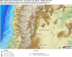 Ισχυρότατος σεισμός στην Αργεντινή! 6,7 Ρίχτερ σκόρπισαν τον τρόμο!