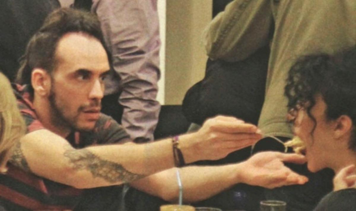 Π. Μουζουράκης – Μ. Σολωμού: Τρυφερές στιγμές! | Newsit.gr