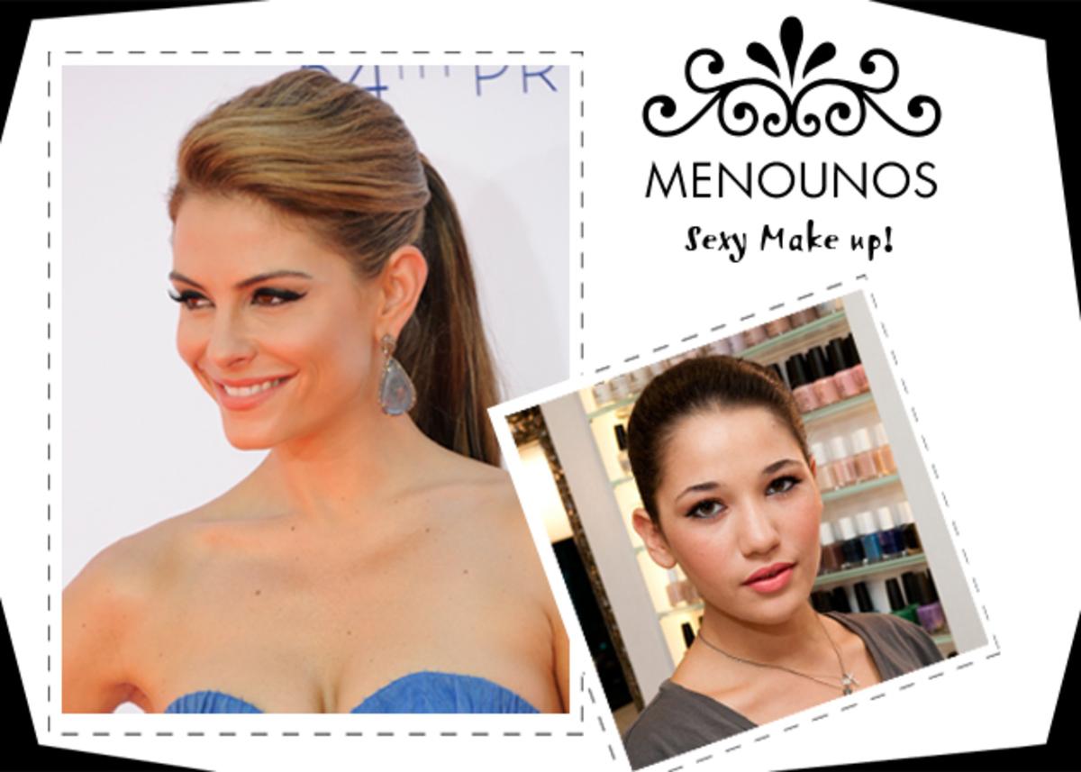 Το μακιγιάζ του Σαββάτου! Πώς να κάνεις το sexy make up της Maria Menounos! | Newsit.gr