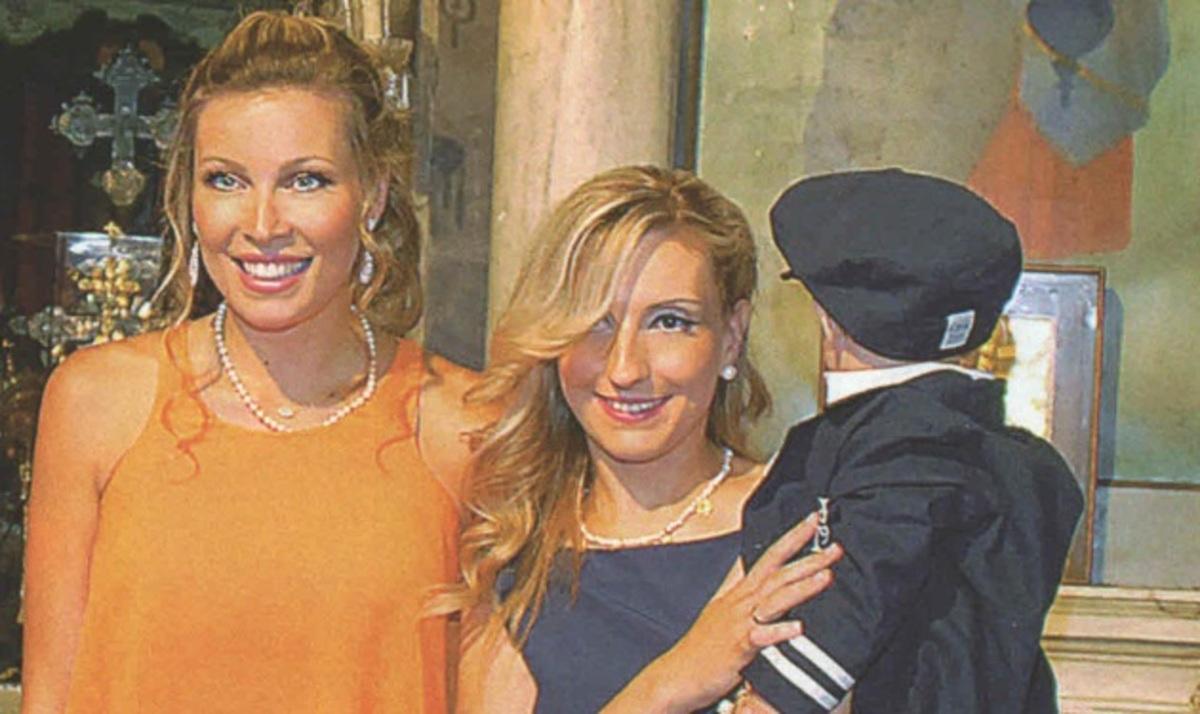 Μ. Χρουσαλά: Πριν γίνει μαμά, έγινε νονά! Φωτογραφίες | Newsit.gr