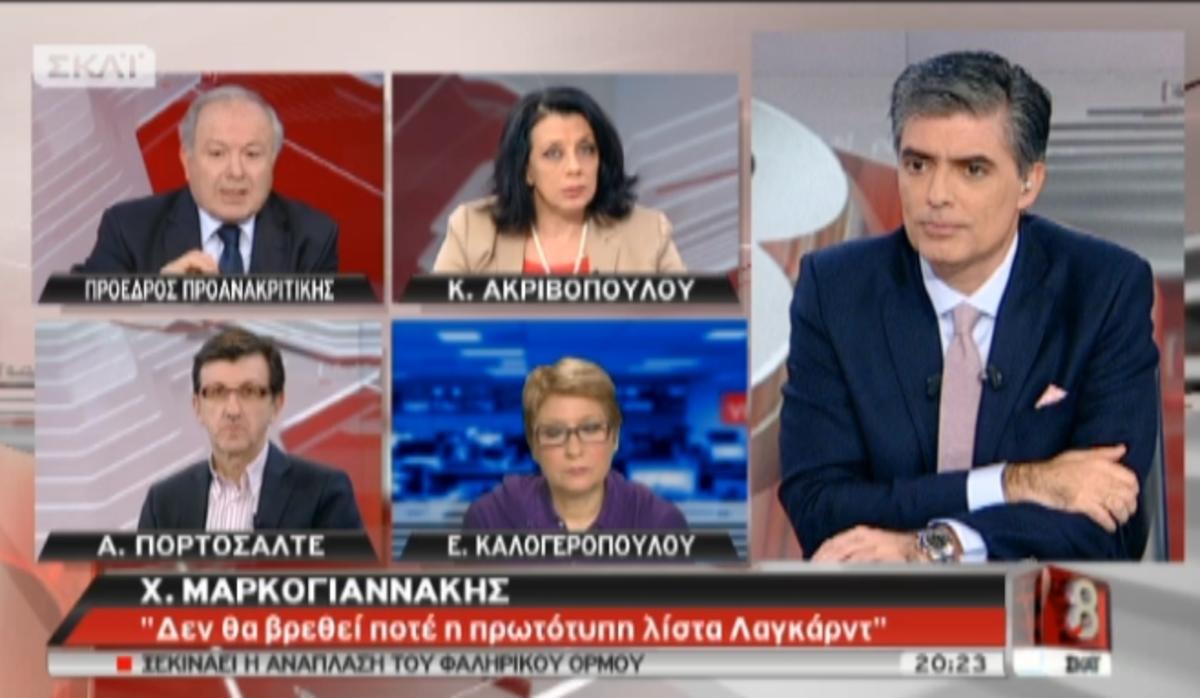 Αποκαλυπτικός ο Μαρκογιαννάκης στον ΣΚΑΙ: Δεν αποκλείω αλλοιώσεις και στα ποσά της λίστας | Newsit.gr