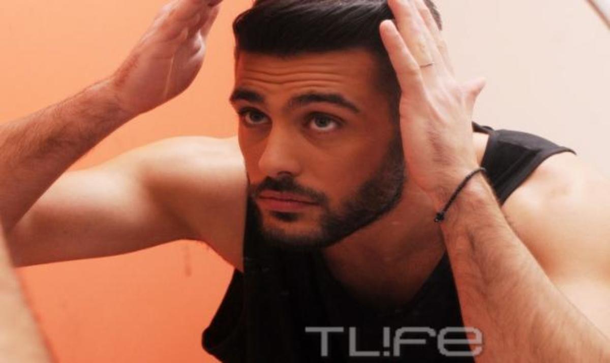 K. Μαρτάκης: «Τρυπώσαμε» στο καμαρίνι του στο «Dancing»! | Newsit.gr