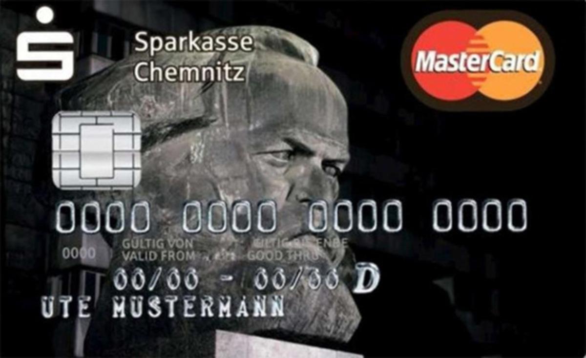 Γερμανία: Πιστωτικές κάρτες με το πρόσωπο του Μαρξ κάνουν θραύση | Newsit.gr