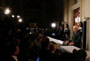 Ιταλία: Μέχρι αύριο η εντολή Ματαρέλα για σχηματισμό κυβέρνησης