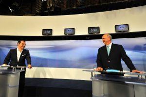 Debate πολιτικών αρχηγών: Το ανέκδοτο του Τσίπρα για το… σφηνάκι