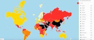 Ελευθερία του Τύπου: Στην 88η θέση η Ελλάδα, τελευταία η Βόρεια Κορέα