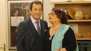 Μίρκα Παπακωνσταντίνου και Δάνης Κατρανίδης μαζί στην TV