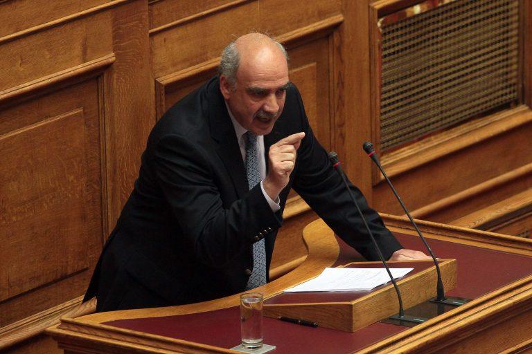 Επιστρέφει στα καθήκοντά του ο Β. Μεϊμαράκης | Newsit.gr