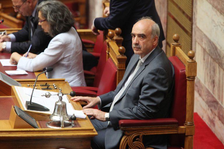 Χθες αυτοακυρώθηκε ο πρόεδρος της Βουλής   Newsit.gr