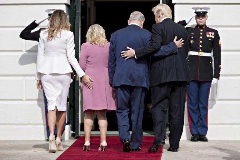 Η Μελάνια Τραμπ χούφτωσε την Σάρα Νετανιάχου [pics, vid] | Newsit.gr