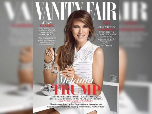 Μελάνια Τραμπ: Οργή για το εξώφυλλο όπου τρώει κοσμήματα!