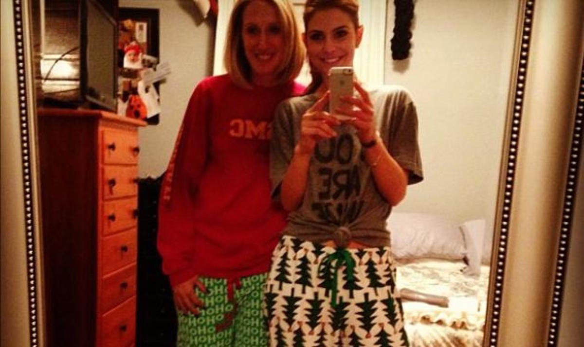 Μ. Μενούνος: Ποζάρει με τις πιτζάμες της, λίγο πριν πάει για ύπνο!   Newsit.gr