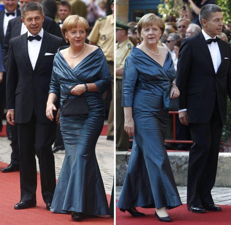 Αποθεώνουν οι Γερμανοί την Μέρκελ γιατί φόρεσε το ίδιο φόρεμα   Newsit.gr
