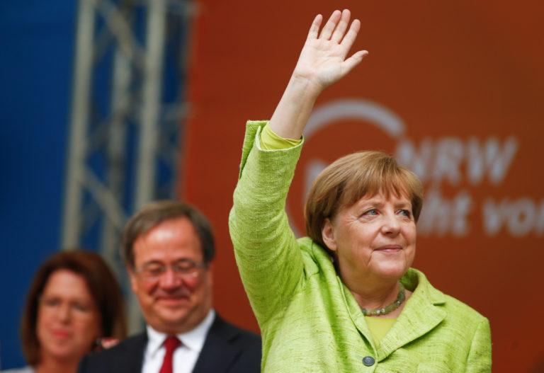 Μεγάλη νίκη της Μέρκελ στις εκλογές στη Βόρεια Ρηνανία – Βεστφαλία