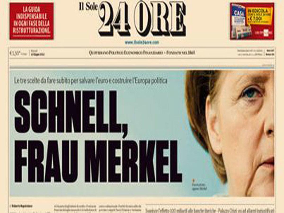 «Schnell, Frau Merkel»: Μη μας αντιμετωπίζετε με αδιάφορα | Newsit.gr