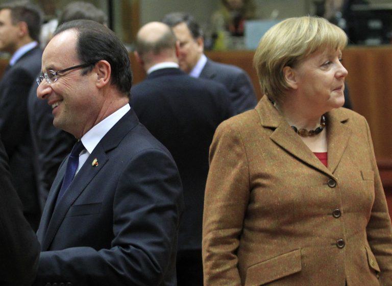Συνάντηση Μέρκελ-Ολάντ πριν από τη Σύνοδο Κορυφής | Newsit.gr