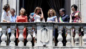 Ο… μοναχικός σύζυγος της Μέρκελ ανάμεσα σε τέσσερις Πρώτες Κυρίες! [pics]