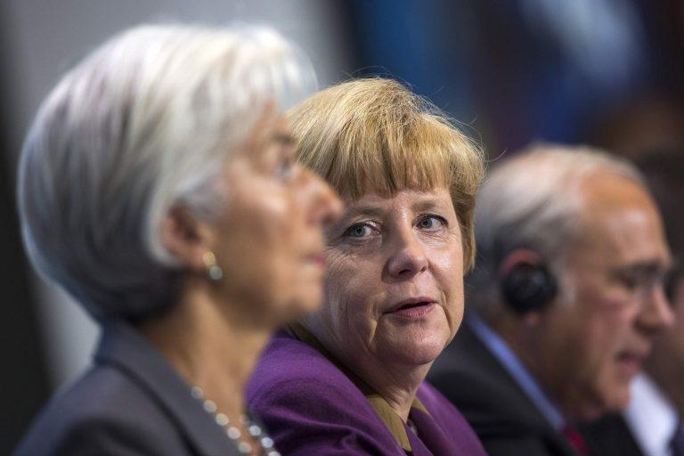 Μέρκελ με Λαγκάρντ: «Δεν μιλήσαμε καθόλου για την Ελλάδα» | Newsit.gr