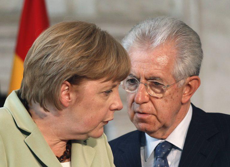 Μόντι προς Μέρκελ: «Θα συμφωνήσεις με τα ευρωομόλογα ή θα συνεχίσουμε να σου… βάζουμε γκολ;» – Όλο το παρασκήνιο της ολονύχτιας Συνόδου Κορυφής | Newsit.gr