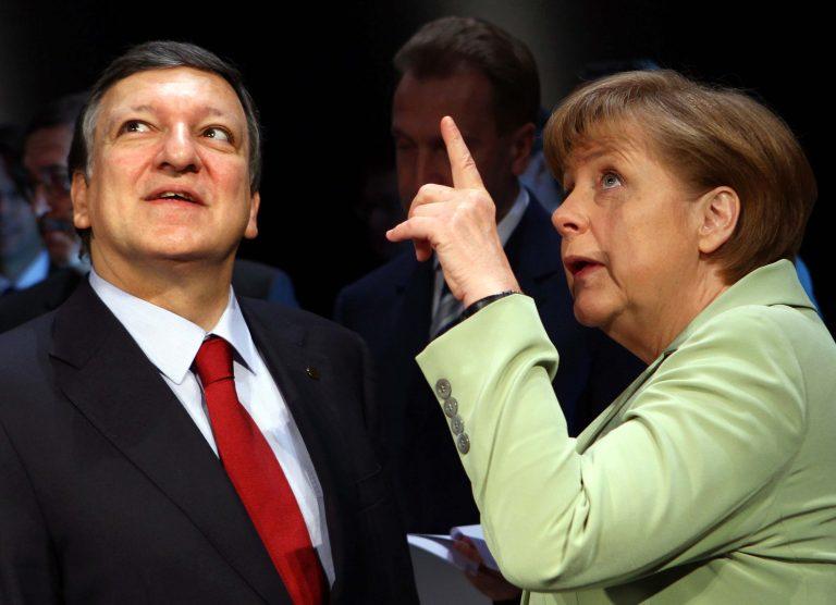 Μέρκελ και Μπαρόζο θα πιέσουν για μια τραπεζική ένωση | Newsit.gr