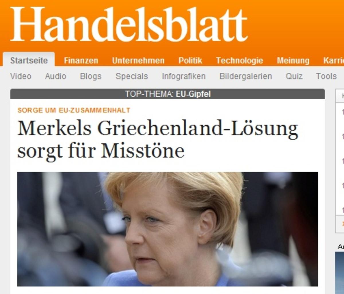 Γερμανικός Τύπος: Πικρή νίκη της Μέρκελ | Newsit.gr