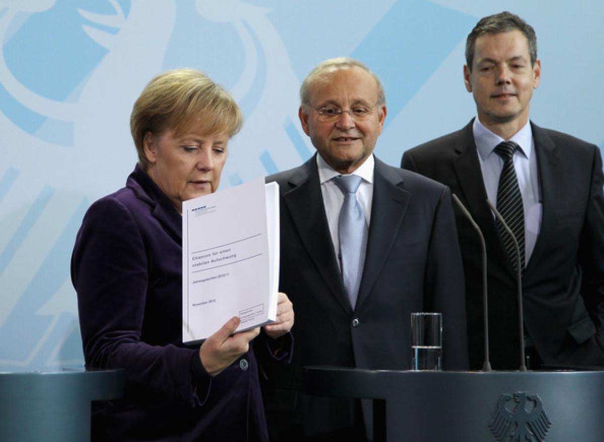 """Β.Φραντς: """"Αν η επόμενη ελληνική κυβέρνηση αρνηθεί τις μεταρρυθμίσεις τότε η Ελλάδα θα πρέπει να εγκαταλείψει το ευρώ""""   Newsit.gr"""