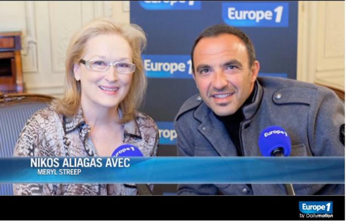 Δείτε όλη τη συνέντευξη που πήρε ο Νίκος Αλιάγας από τη Μέριλ Στριπ! | Newsit.gr