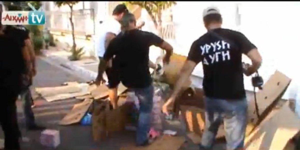 Μετά το πανηγύρι,  τα «σπάνε» σε λαϊκές αγορές – Νέα επίθεση Χρυσαυγιτών σε μικροπωλητές – Επεισόδια σε Μεσολόγγι και Γαβαλού – Video | Newsit.gr