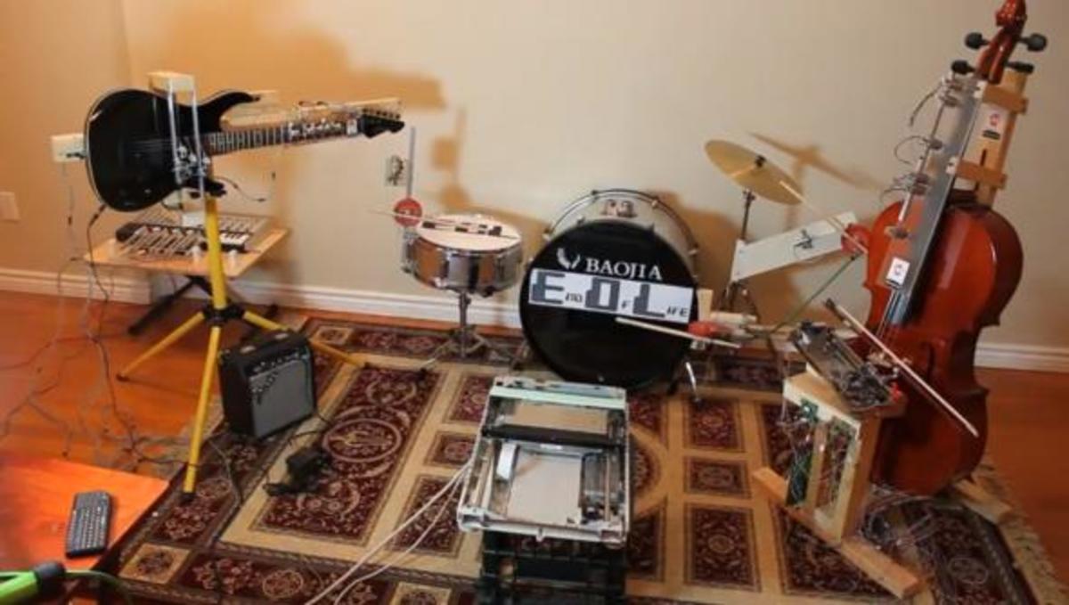 Metal μουσική από ρομπότ! | Newsit.gr