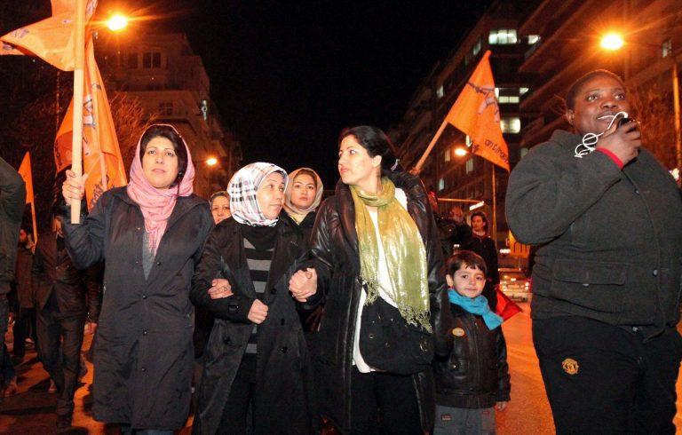 Πορεία για το μεταναστευτικό στη Θεσσαλονίκη | Newsit.gr