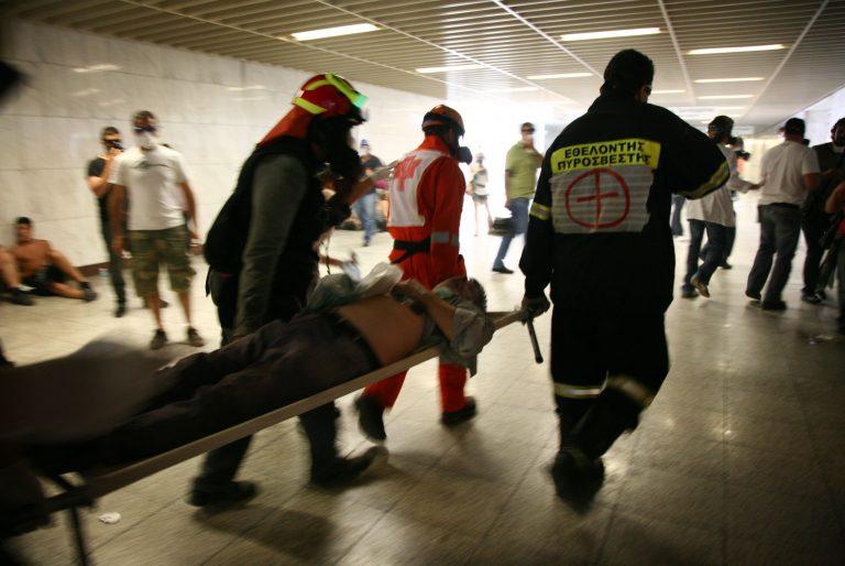 Χάος με τραυματίες και πρόχειρα ιατρεία στο Μετρό – Βίντεο μέσα από τον σταθμό | Newsit.gr