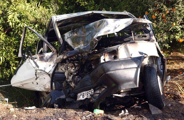 Ηράκλειο: 5 τραυματίες σε μετωπική σύγκρουση | Newsit.gr